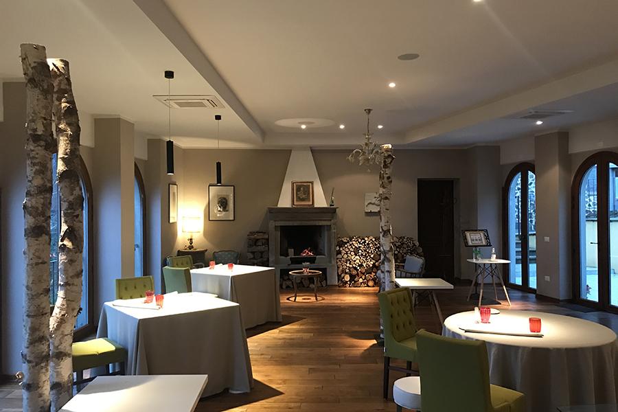 sala ristorante Mater Poppi